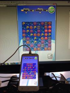 Primera prueba de un pequeño juego multiplayer por wi-fi